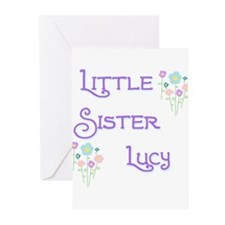 Little Sister Lucy Greeting Cards (Pk of 10)