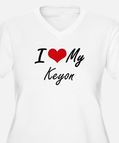 I Love My Keyon Plus Size T-Shirt