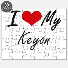 I Love My Keyon Puzzle