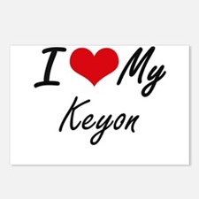 I Love My Keyon Postcards (Package of 8)