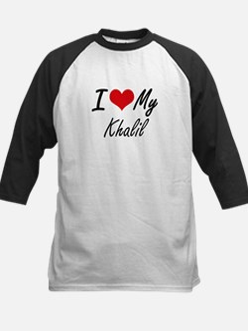 I Love My Khalil Baseball Jersey