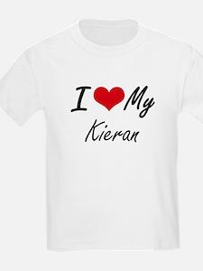 I Love My Kieran T-Shirt