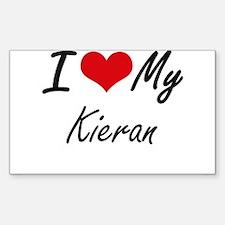 I Love My Kieran Decal