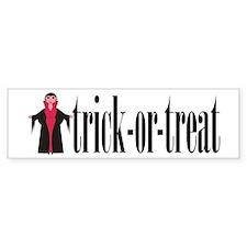 Trick-or-Treat Vampire Bumper Bumper Sticker