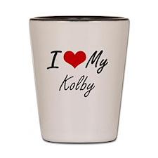 Unique Kolby Shot Glass
