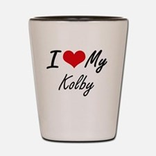 Funny Kolby Shot Glass