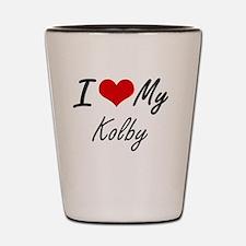 Cool Kolby Shot Glass