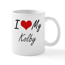 I Love My Kolby Mugs