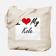I Love My Kole Tote Bag