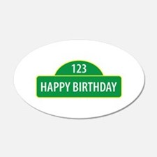 Happy Birthday Wall Decal