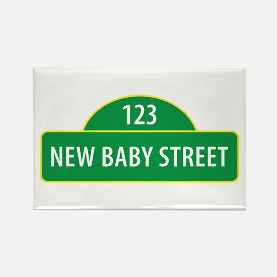 New Baby Street Magnets