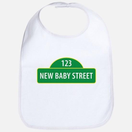 New Baby Street Bib