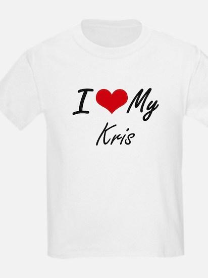 I Love My Kris T-Shirt