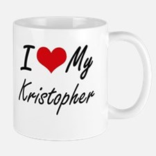 I Love My Kristopher Mugs