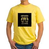 Military Mens Yellow T-shirts