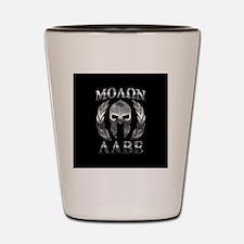 Unique Molon labe Shot Glass