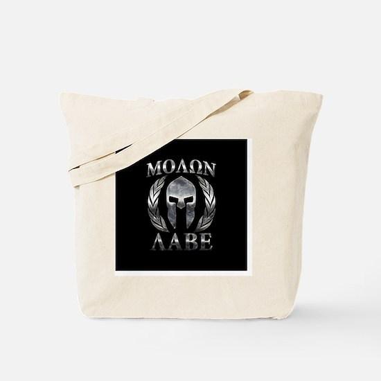 Cute Molon labe Tote Bag