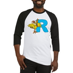 R For Rooster Baseball Jersey