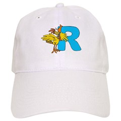 R For Rooster Baseball Cap