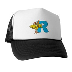 R For Rooster Trucker Hat