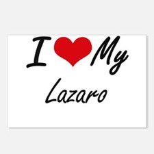 I Love My Lazaro Postcards (Package of 8)