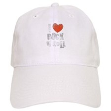 I Love Rock N Roll Baseball Baseball Cap