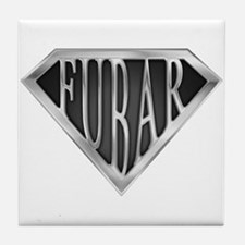 SuperFubar(metal) Tile Coaster