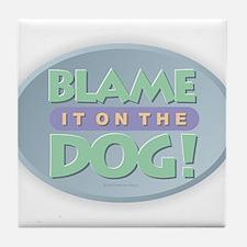 Blame Dog Tile Coaster
