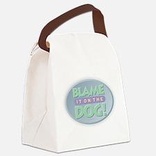 Blame Dog Canvas Lunch Bag