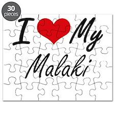 I Love My Malaki Puzzle