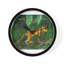 Thylacine Wall Clock
