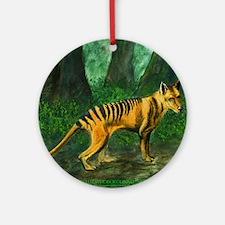 Thylacine Ornament (Round)