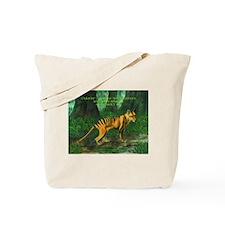 Thylacine Tote Bag