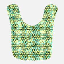 Green Mosaic Bib
