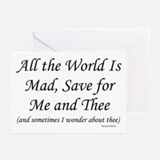Me & Thee Greeting Cards (Pk of 20)
