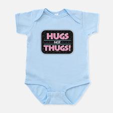Hugs Not Thugs Body Suit