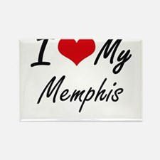 I Love My Memphis Magnets