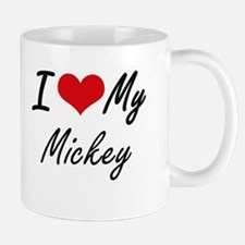 I Love My Mickey Mugs