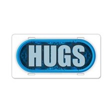 HUGS Aluminum License Plate