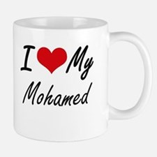 I Love My Mohamed Mugs
