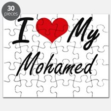 I Love My Mohamed Puzzle