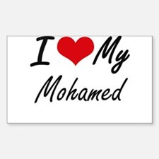 I Love My Mohamed Decal