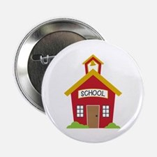 "School House 2.25"" Button (10 pack)"
