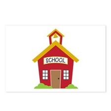 School House Postcards (Package of 8)