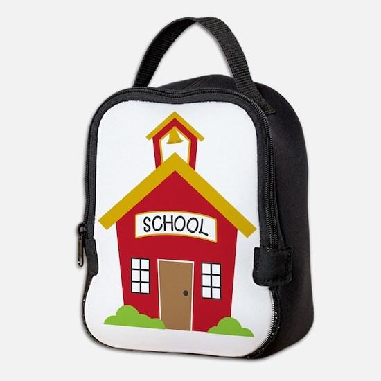 School House Neoprene Lunch Bag