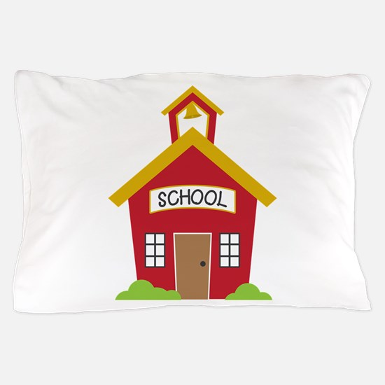 School House Pillow Case