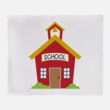 School House Throw Blanket