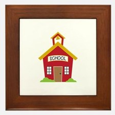 School House Framed Tile