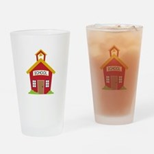 School House Drinking Glass