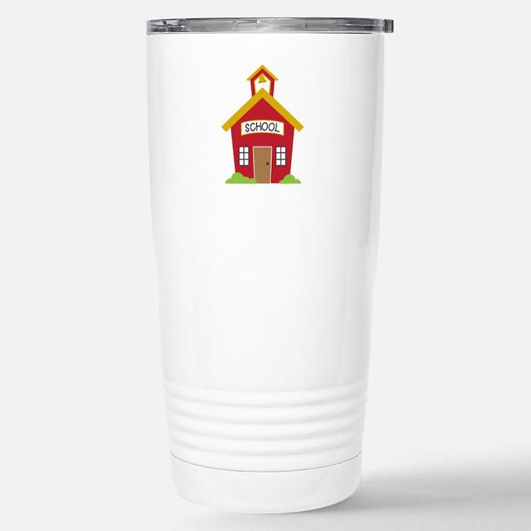 School House Travel Mug